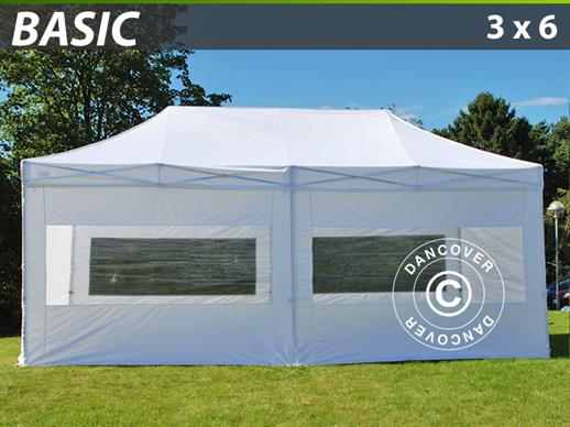 Tende party 3x6 m alluminio in vendita